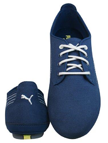 a1b12d06890 Puma Geselle Canvas Womens Casual Trainers   Shoes - Denim Blue  Amazon.co. uk  Shoes   Bags