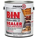 Zinsser B-I-N 128 Oz Clear Advanced Synthetic Shellac Sealer Package of 2