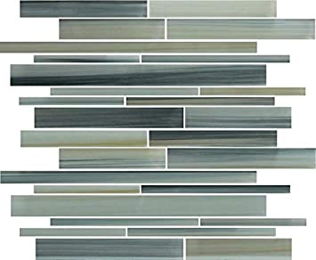 4 extra Hand Cut Tile for Mosaic or Craft Projects 100 count AQUA