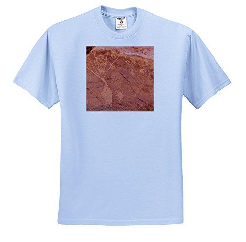 Danita Delimont - Artwork - Ancient Fremont People Petroglyphs, Dinosaur National Monument, Utah. - T-Shirts - Light Blue Infant Lap-Shoulder Tee (18M) (Dinosaurs Ancient Art)