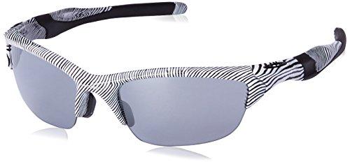 Oakley Men's Half Jacket 2.0 White Fingerprint/Slate Iridium  One - Frame Half Oakley