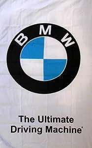 Nuevo 3x 5ft vertical BMW bandera estandarte de la señal