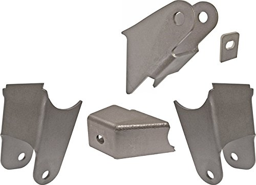 NEW CURRIE 59-64 CHEVY CAR REAR SUSPENSION BRACKET SET, UPPER & LOWER CONTROL ARM MOUNTS, PANHARD ROD MOUNT, BRAKE TAB, 1959 1960 1961 1962 1963 1964 IMPALA CAPRICE BEL AIR BISCAYNE EL CAMINO New Rear Brake Arm