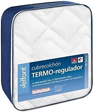Velfont - Cubrecolchón Termo-regulador Outlast Algodón: Amazon.es ...