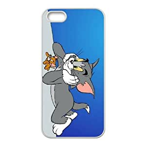 sleeping tom and jerry normal iPhone 5 5s Cell Phone Case White xlb2-318183