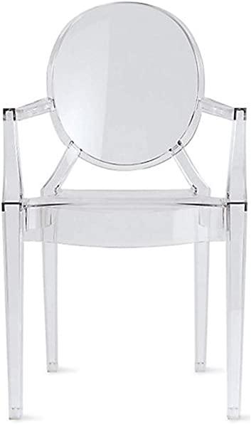 2xhome Clear Modern Contemporary Ghost Chair