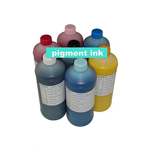 Compatible Pigment Light (GOWE 7000ml set pigment ink for Epson Pro 7600 inkjet ink wide format)