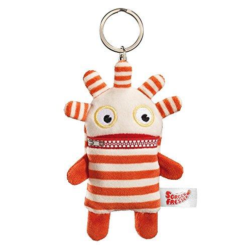 Sorgen fresser 42323 Worry Eater Soft Toy 10 cm Keyring - Saggo, Multicolour