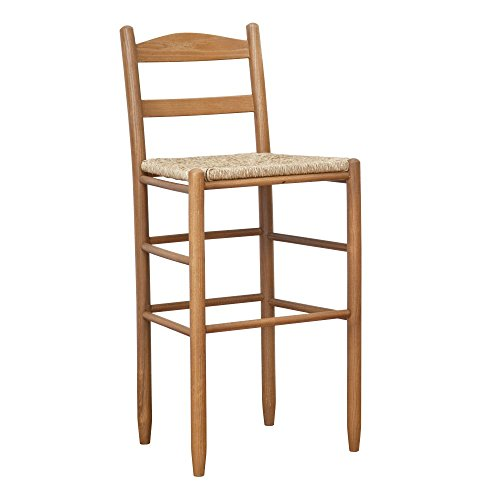 Dixie Seating 30 in. Shaker Style Ladder Back Bar Stool