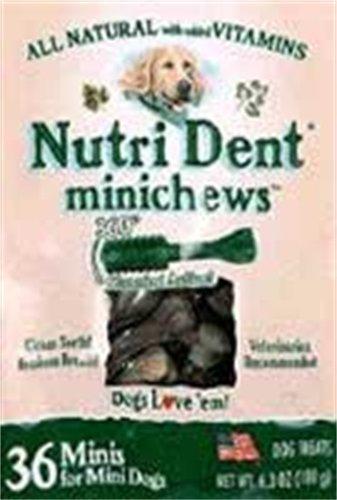 Nylabone Nutri Dent Original Minichews for Mini Dogs, 36-Count Pouch