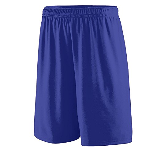 Basketball Purple Kids (Augusta Sportswear BOYS' TRAINING SHORT L Purple)