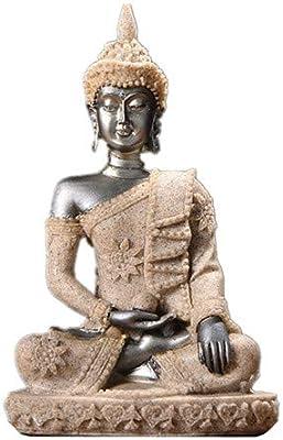 LKXZYX Boda Decoracion Buda budas Figuras de Grandes Salon candelabros Jardin Exterior Tailandia Buda Escultura Hindú Fengshui Estatuilla Meditación Miniatura Casa: Amazon.es: Hogar