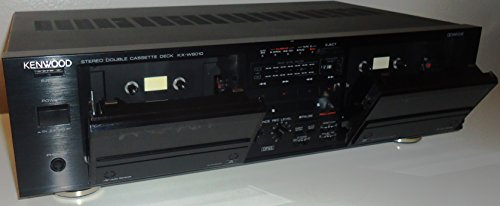 (Kenwood KX-W6010 Auto Reverse Recordable Stereo Double Cassette Tape Recording Deck - Japan)