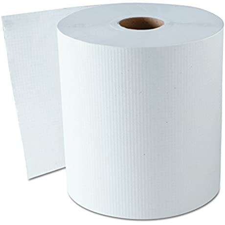 GEN 1820 Hardwound Roll Towels White 8 X 800 Ft Case Of 6