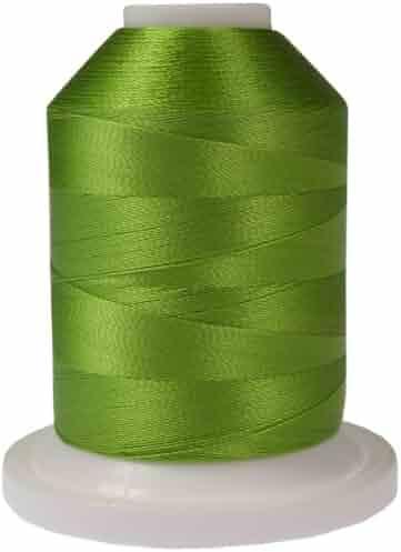 Jungle Green 1100-Yard Robison-Anton Rayon Super Strength Thread