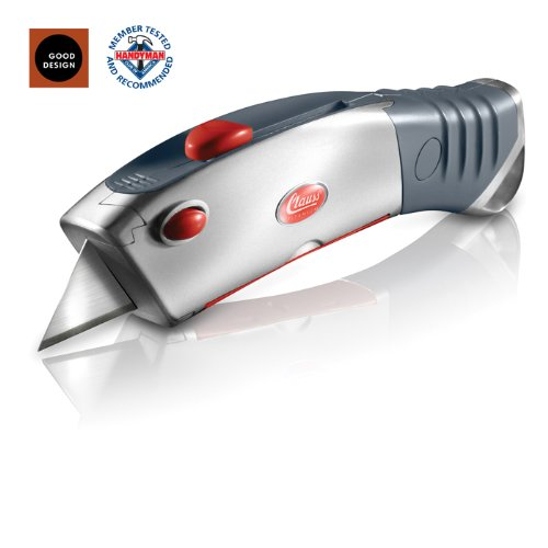 Clauss SpeedPak Titanium Bonded Cartridge Based Utility Knife With Ten Utility Blades