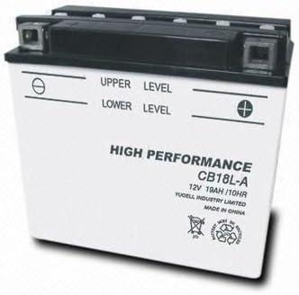 TOPCAR Batterie Moto 12V 18Ah CB18L-A