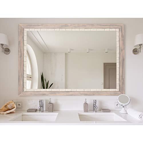 BrandtWorks BM023M2 Weathered Beach Wall Vanity Mirror, 32