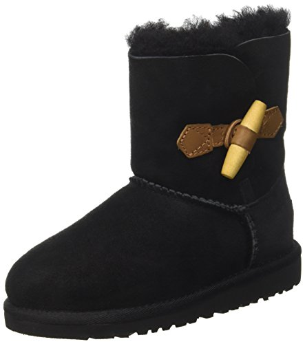 UGG Kids' Ebony-K, Black, 13 M US Big Kid by UGG