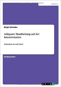 Book Adäquate Einarbeitung auf der Intensivstation
