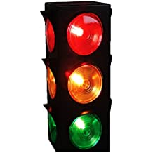 Play Kreative Light Up Traffic Stop Lamp - for Traffic Decorations, Celebrations and Parties