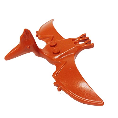 Lego Parts: Dino Island Research Compound - Pteranodon (Dark Orange)