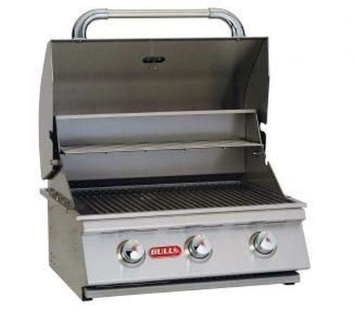 """24"""" Stainless Steel Built-In Natural Gas Barbecue Grill"""