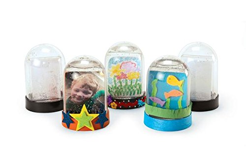 Colorations Create Your Own Snow Globe - Set Of 12 (Item # SNOWDOME)