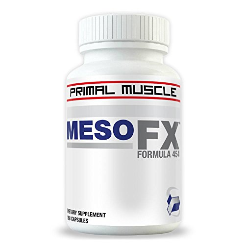 MesoFX ★ Russian Anabolic Muscle Builder For Men ★ 4-Week Bodybuilding Supplement Cycle For Muscle Mass Gain