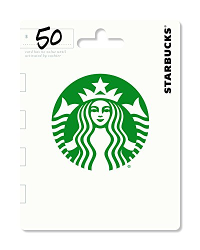 Pizza Gift Card - Starbucks Gift Card $50