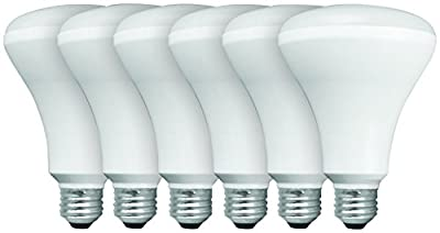 TCP Halogen A19 4 Pack. Dimmable, Warm White, 100 Watt Equivalent (only 72w Used!) Frosted, Standard Household Light Bulb -442272B4