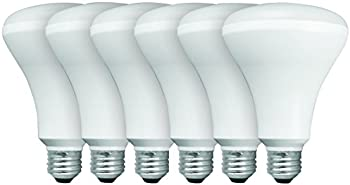 6-Pk. TCP BR30 Recessed LED Light Bulbs 65W Soft White