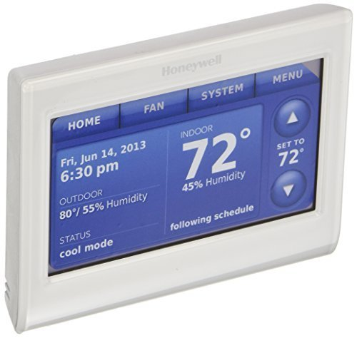honeywell-thx9421r5021ww-2-wire-iaq-high-definition-touch-screen-thermostat-with-red-link-technology