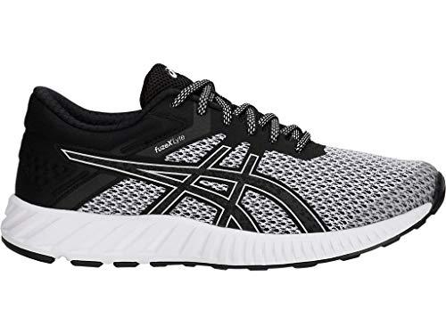 ASICS Women's fuzeX Lyte 2 Running Shoes, 5.5M, White/White