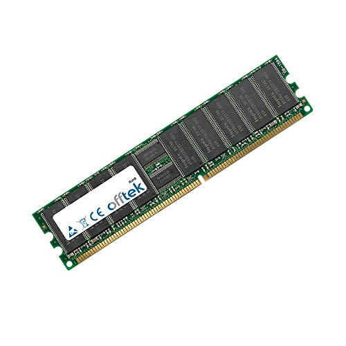 256MB RAM Memory 184 Pin Dimm - 2.5V - DDR - PC2700 (333Mhz) - ECC Registered - OFFTEK