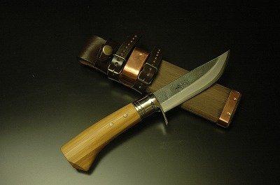 土佐鍛 剣鉈 竹柄両刃 120 土佐オリジナル白鋼 N1119-007   B00SAZ4HJC