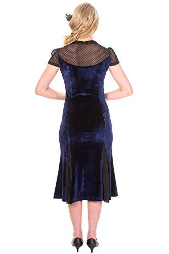 Abendkleid Banned Midnight Blue 5069 Black SENSATION DRESS 78rRZn8q