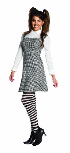 [Disney's Frankenweenie Adult Elsa Van Helsing Set, Black/White, Standard] (Van Helsing Fancy Dress Costume)