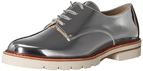 Stuart Weitzman Women's Metro Oxford, Tin, 7.5 M US METRO