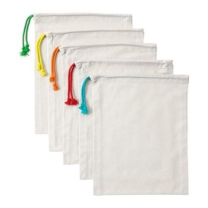 IKEA ANVÄNDBAR, Bolsas 100% algodón ¡múltiples usos!: Amazon ...