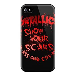 Fashionable Style Cases Covers Skin For Ipod Touch 5 Case Cover - Metallica