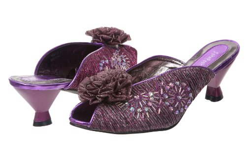 Femme Fashion Sandales Violet John Pour JohnFashion zPZwnqI0