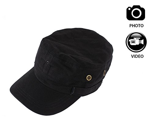 JOYCAM Wearable Hat with Camera Cap Video Recording HD 720P