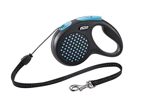 Guia Retratil Flexi Design Corda M 5m - Azul