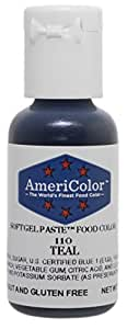 Americolor Soft Gel Paste Food Color, .75-Ounce, Teal