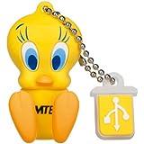 Looney Tunes USB Flash Drive 8GB Stick 3D Design Cinema Stars  Tweety  - L 100 - Episode / Edition 1
