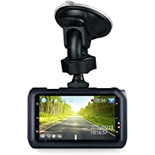 "Z-Edge Z3 3"" Screen 2K 2560 x1080 Ultra HD Car Dash Camera 145 Deg Wide Angle Lens Dash Cams with Ambarella Chip, 32GB SD Card Included, WDR Enhance Night Vision, G-Sensor, Parking Monitor"