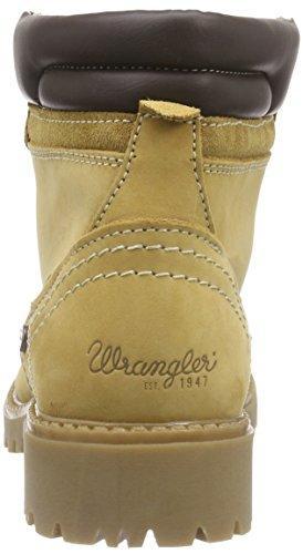 Wrangler Creek - Botas de cuero para mujer Beige (24 Tan Yellow)