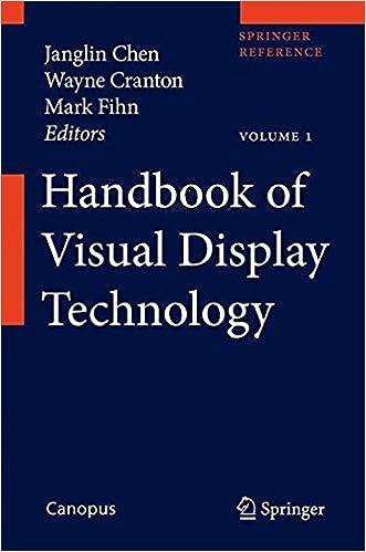 Handbook of Display Technology