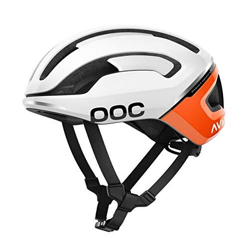 POC Omne Air Spin Helmet Zink Orange Avip MED & Cap ()